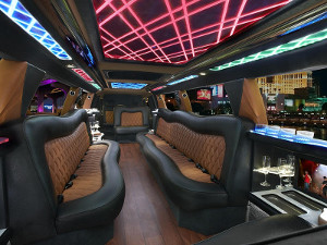 Stretch Cadillac Escalade Limo Detroit Limousine Service Luxury Party Bus Limo Rental